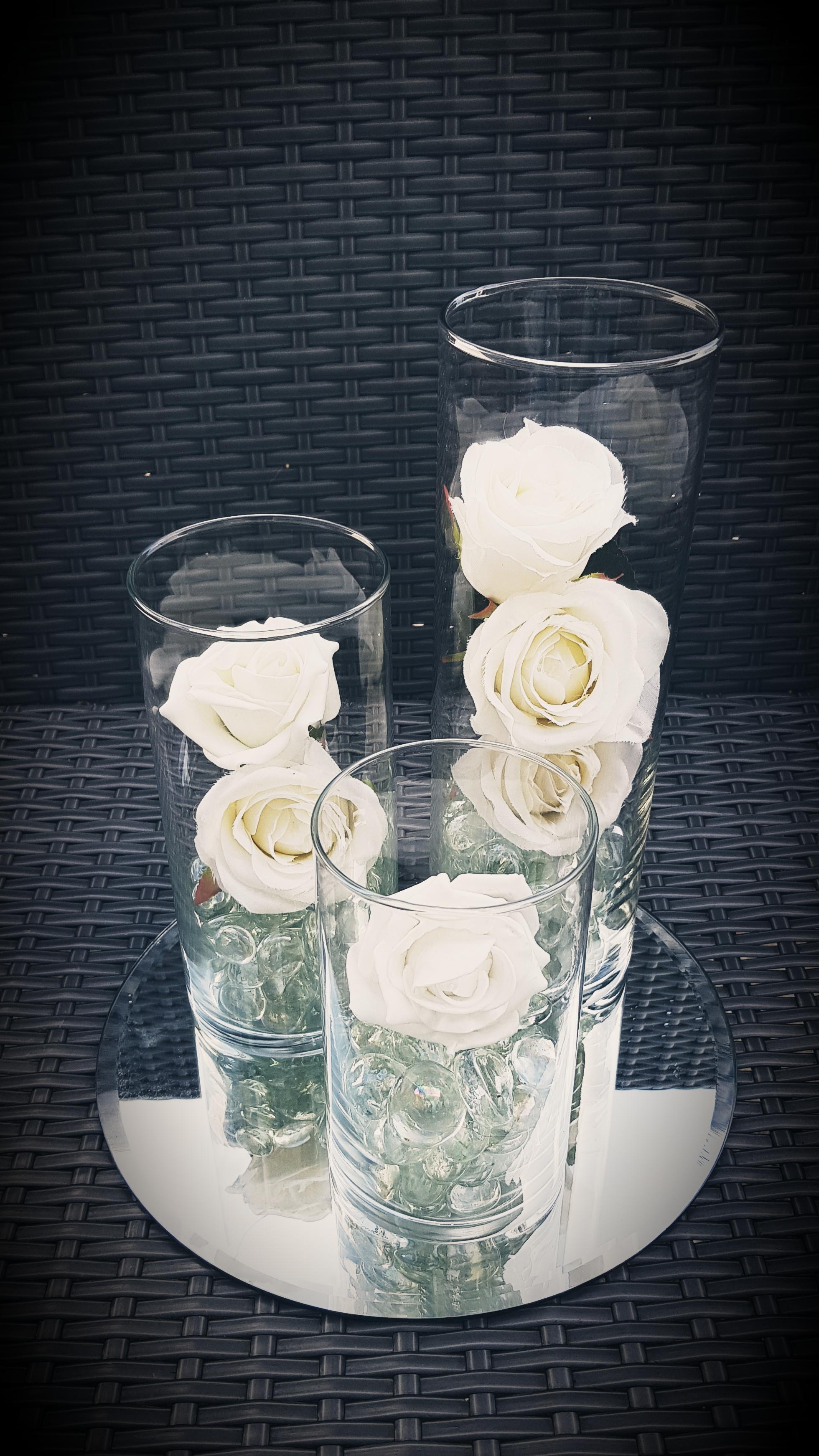 Tripple Cylinder Vases
