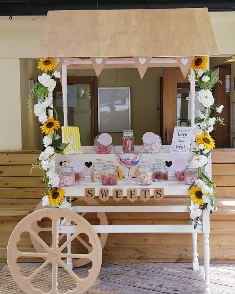 Sweet / prosecco cart