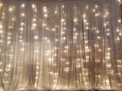 silk sparkle backdrop