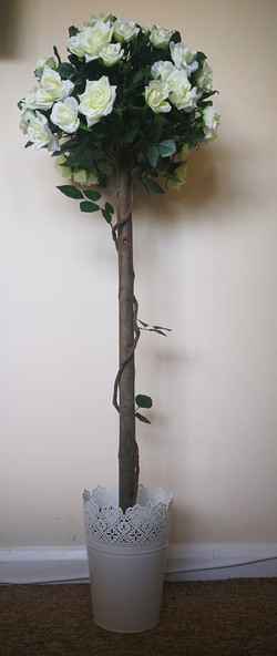4ft Silk Rose Trees