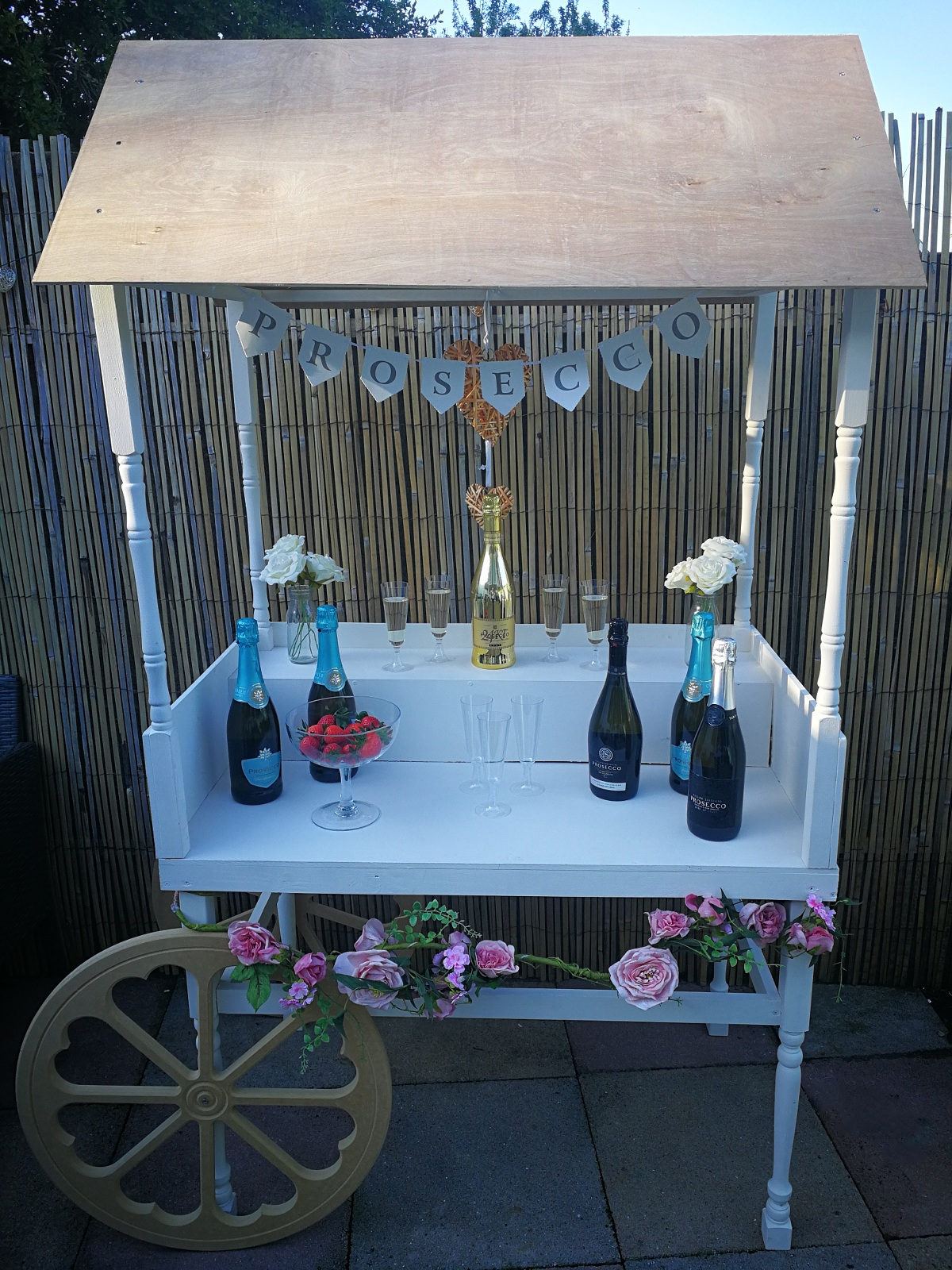 sweet/prosecco cart