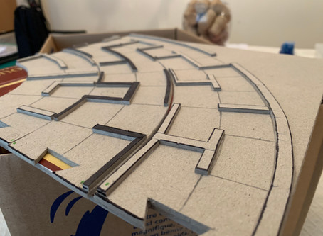 I broke my maze board... and made a new one!