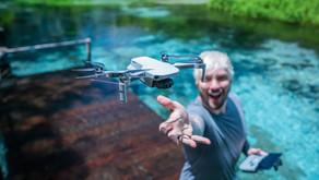 Bonito é escolhido para review do novo drone da DJI produzido por Rabbit Films