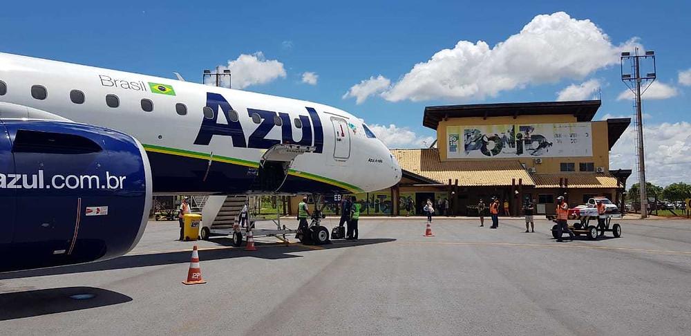 aeroporto de bonito ms