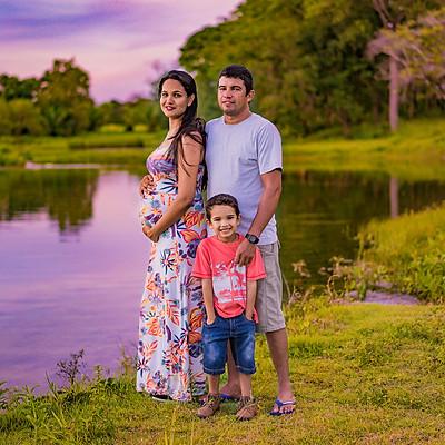 Família Alencar e Vanerli
