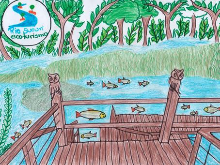 Projeto Rio Sucuri -Educando com Turismo II edição envolve alunos em concurso de desenho