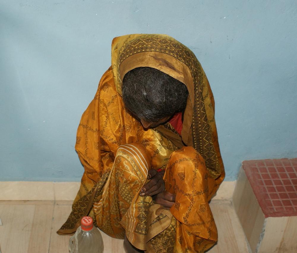 Kishna Kumari when she was found 6 yrs ago