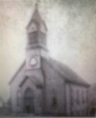 Historic church chapel Pittsburgh Tarentum wedding venue event space