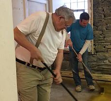 Jim Fitzroy floor historic church tarentum