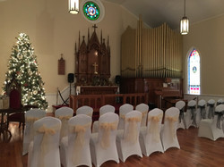 Event space chapel at Tarenbee