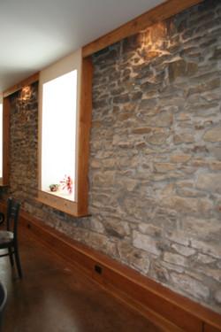 Original rock walls