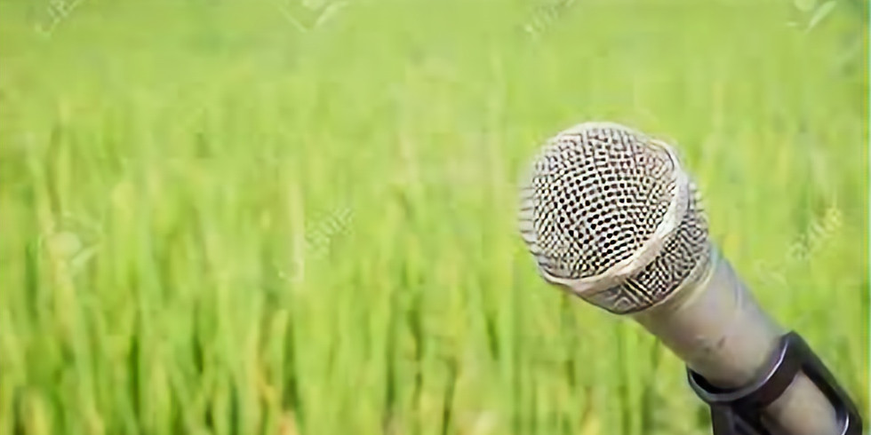 """I Can't Wait for the """"Blue Grass"""" of Spring dinner & open mic"""