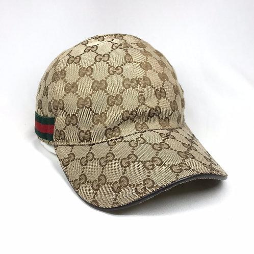 GUCCI グッチ GGキャンバス 帽子