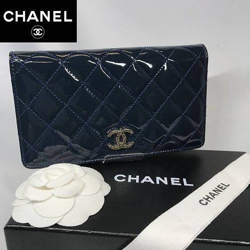CHANEL シャネル パテントレザー 財布