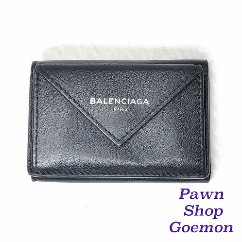 バレンシアガ ペーパー ミニウォレット 財布