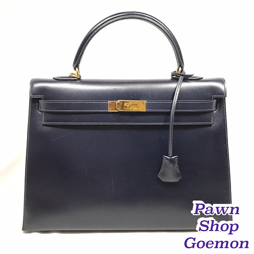 HERMES ケリー35 外縫い ハンドバッグ