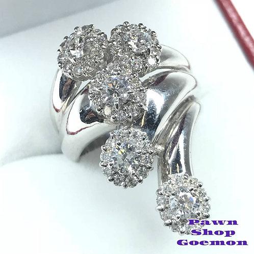 ダイヤモンド 1.50ct pt900 プラチナリング 11号