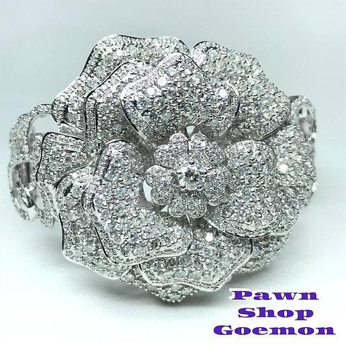 ダイヤモンド 0.40ct 11.50ct WGK18 ブレスレット