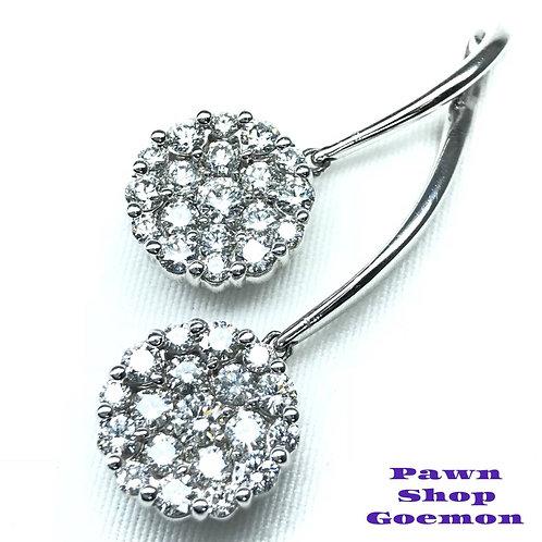ダイヤモンド 3.00ct PT900 ネックレストップ