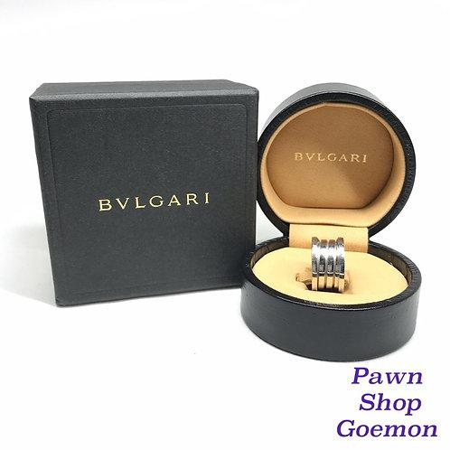 BVLGARI K18 ホワイトゴールドリング