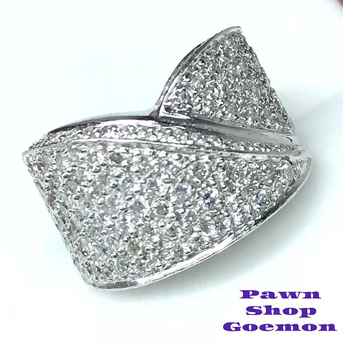 ダイヤモンド 2.32ct pt900 プラチナリング 10号