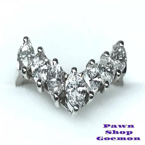 ダイヤモンド 1.04ct プラチナ900 リング