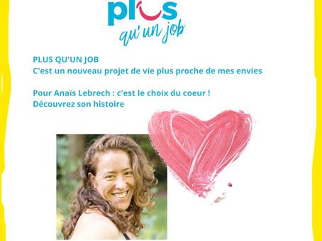 Anaïs Lebrech : le choix du cœur !