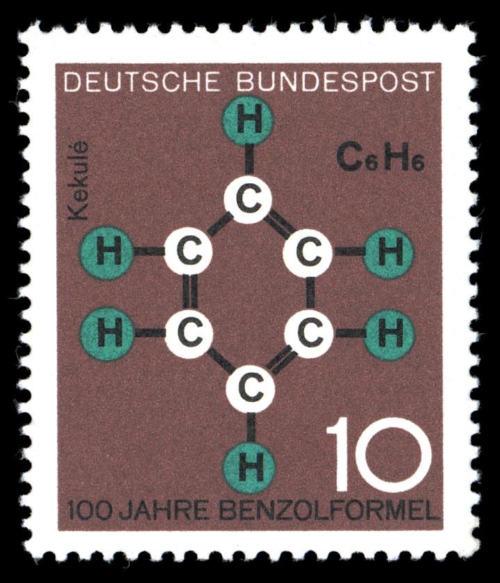 Molécule de benzène