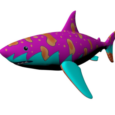 Shark puppet