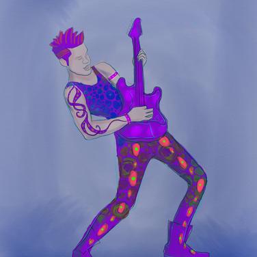 Octo-guitarist