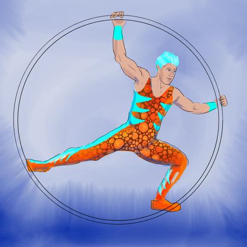 Cyr Wheel artist