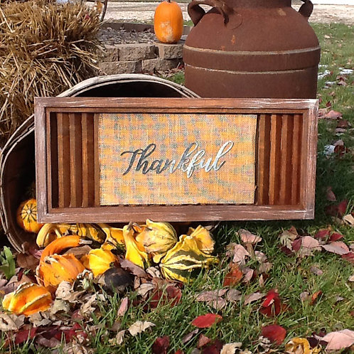 Thankful shutter