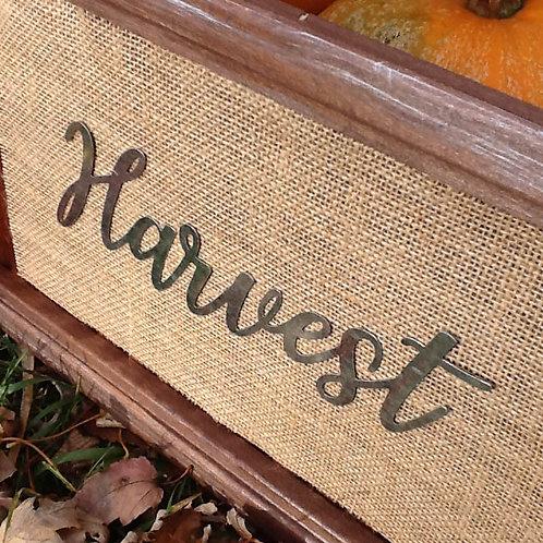 Harvest shutter