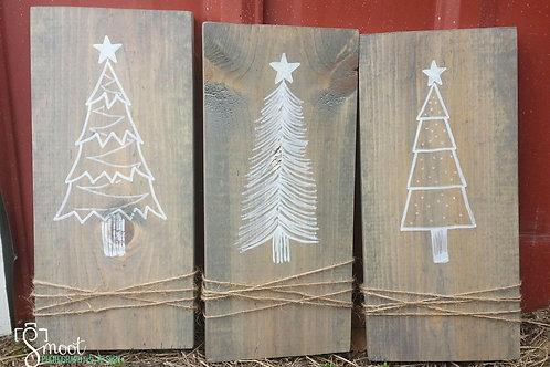 Oh Christmas tree set