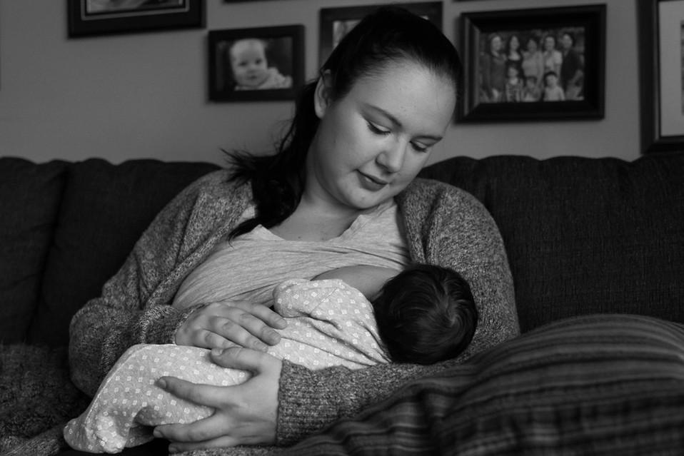 Presence: Motherhood