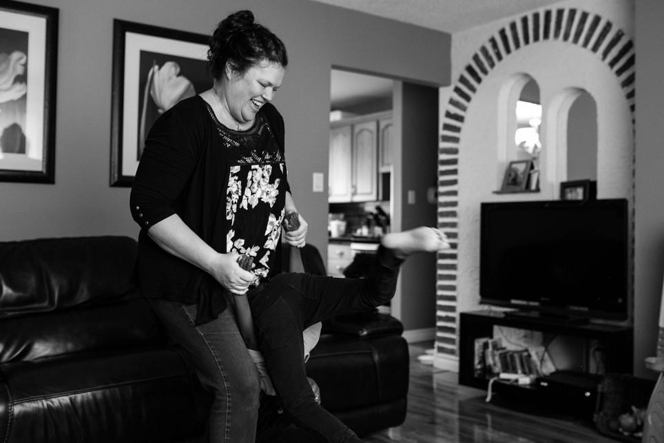 Airdrie Photographer, Calgary photographer, lifestyle, documentary, black and white, baby photos, family photographer