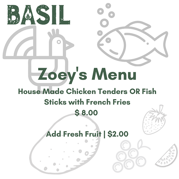 Zoey's Picks House Made Chicken Tenders