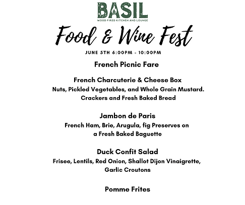 Copy of Wine Stroll Tastings include a 2