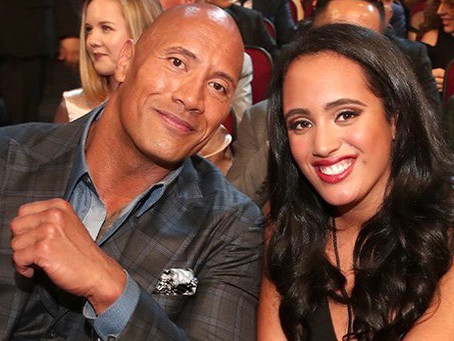 Dwayne Johnson's Daughter Simone Is Training To Become A WWE Superstar