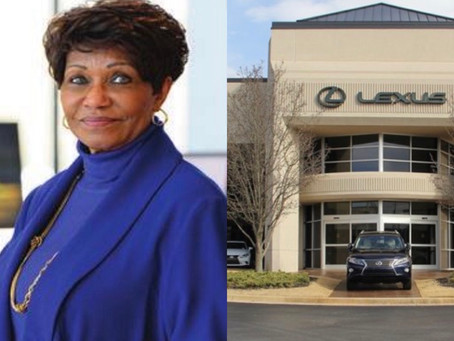 The FIRST African-American woman to own a luxury car dealership.