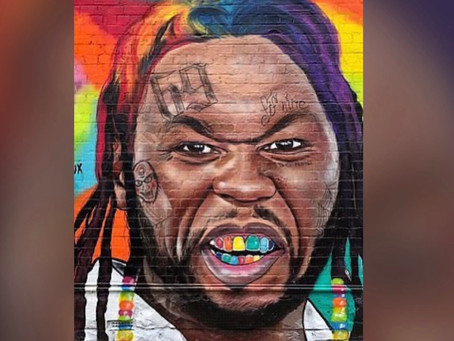 50 Cent Threatens 'To Find and Put a Knot in' Australian Artist Who Keeps Putting His Face On Murals