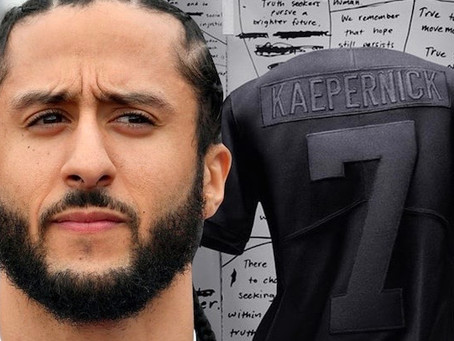 Colin Kaepernick's Special Nike Jersey Sells Out in Seconds
