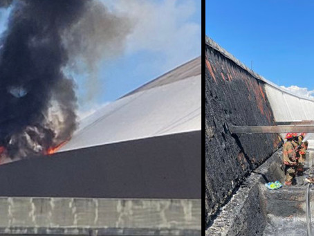 Pressure Washer Caught Fire, Starts the Superdome on Fire