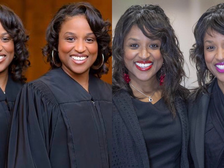 First Identical Twins To Serve Simultaneously As Judges