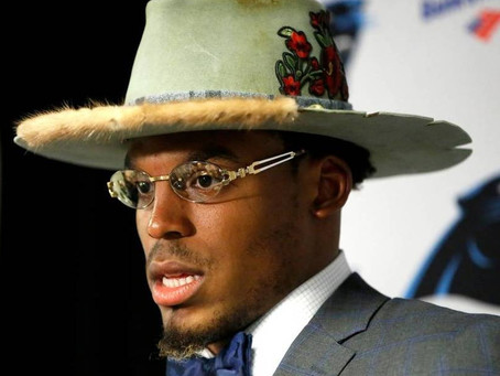Cam Newton Says He's Done Spending Millions on Clothes He's Only Worn Once