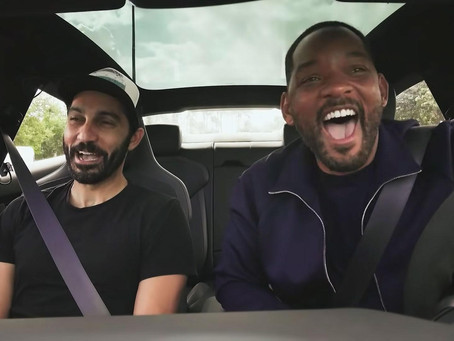 Will Smith Goes Undercover as Lyft Driver in Miami