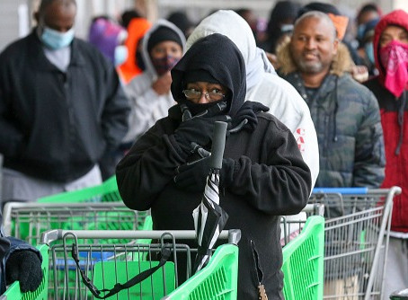 Texans Running Out Of Food As Weather Crisis Disrupts Supply Chain.