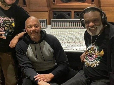 Dr. Dre and Ronald Isley Spotted in the Studio Together