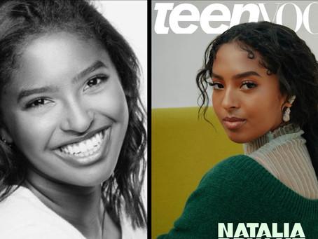 Kobe Bryant's Daughter, Natalia, Covers 'Teen Vogue'