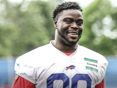 NFL: Buffalo Bill's Shaq Lawson To Pay For Funeral Of 11-Year-Old Girl